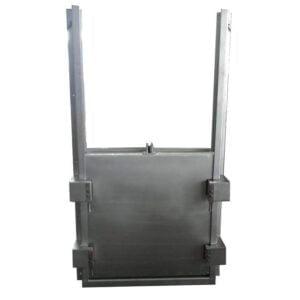 墙式安装焊接方(圆)闸门-图片